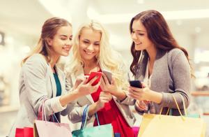 Mobile Smartphone Mall Shopping Center Handel shutterstock 325468235