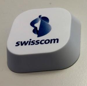 Swisscom verwendet bisher diese Beacons im Handel.