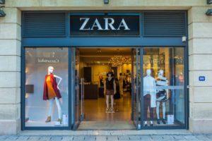 Zara Laden Filiale Shop Geschäft Inditex - shutterstock 309403415