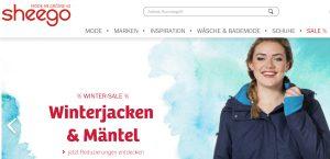 Sheego-Webseite