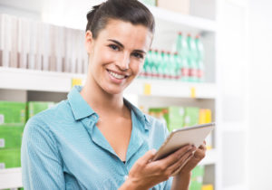 Tablet Store laden Shop Mobile Handel shutterstock_225995242