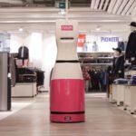 Adler Modemärkte Inventur-Roboter MetraLabs
