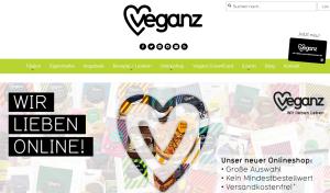 Veganz Online-Shop Screenshot