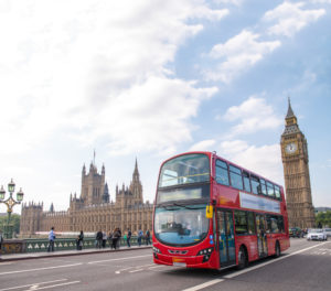 London Bus shutterstock_158310848