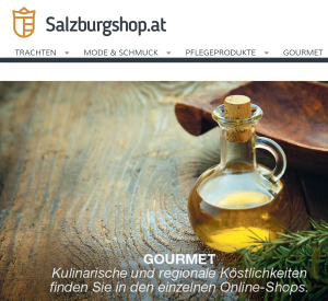 salzburgshop.at Screenshot Webseite
