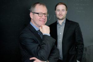 Prof. Gerrit Heinemann und Christian Gaiser