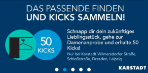 Karstadt-Shopkick-Umkleide