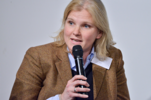 Stefanie Lüdecke von Shopkick beim 18. Mobilisten-Talk in Berlin