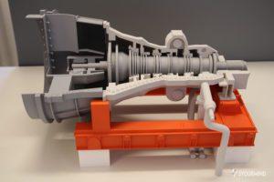 Dampfturbine aus dem 3D-Drucker