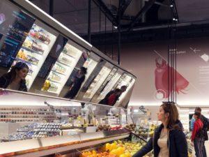Supermarkt Coop Italien