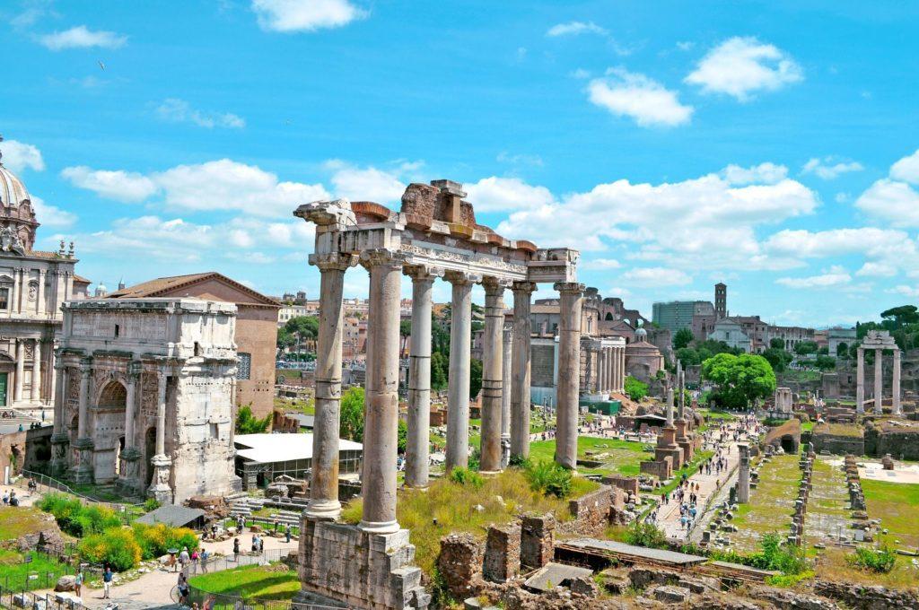 Forum Romanum (Copyright: Pixabay)