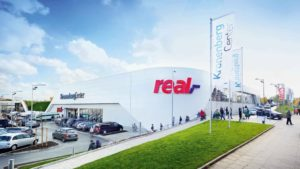 Supermarkt von Real