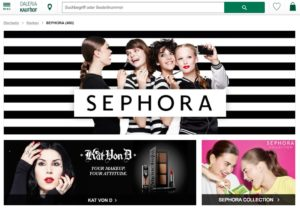 Sephora zieht bei Galeria Kaufhof ein
