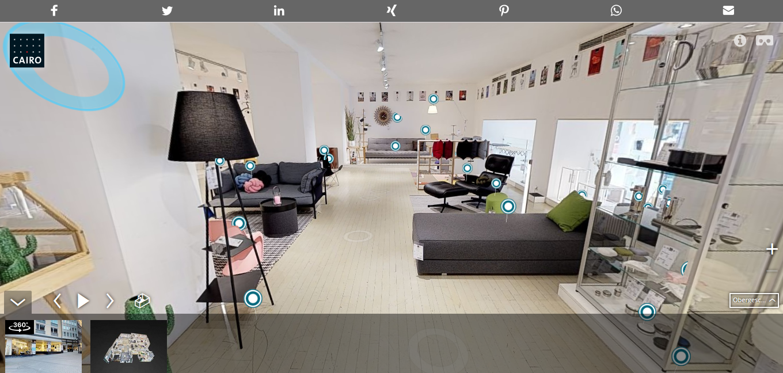 3d Shop Von Cairo Bringt Kunden Ins Virtuelle Möbelhaus Location